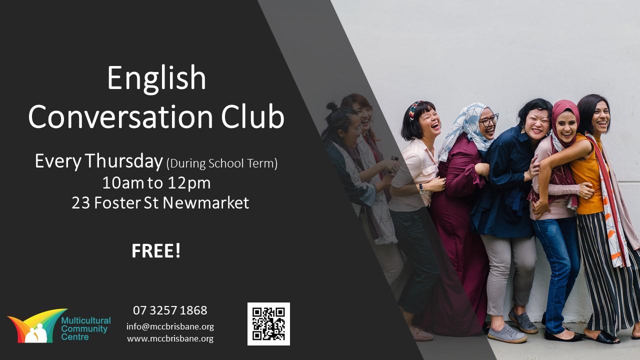 English Conversation Club - Every Thursday (During School Term)